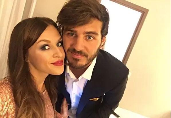 Александр Ерохин с женой