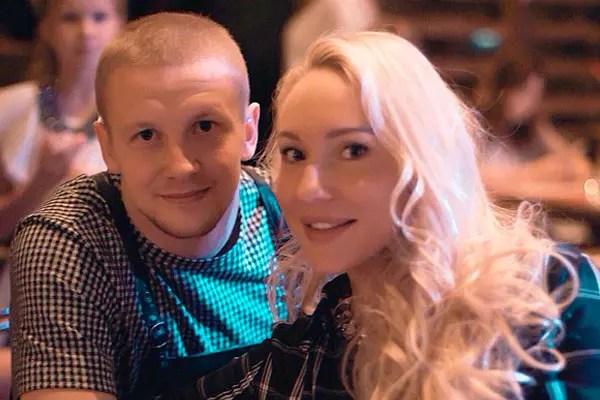 Игорь Смольников с женой