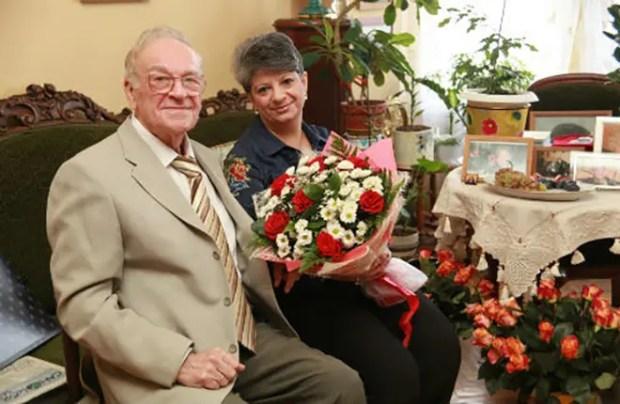 Игорь Кириллов со второй женой Татьяной