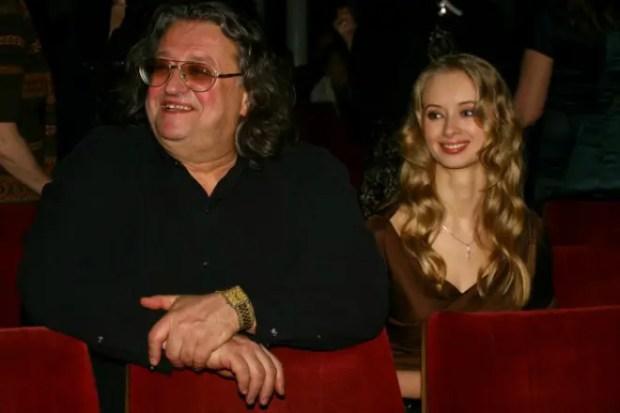 Александр Градский с молодой женой Мариной Коташенко