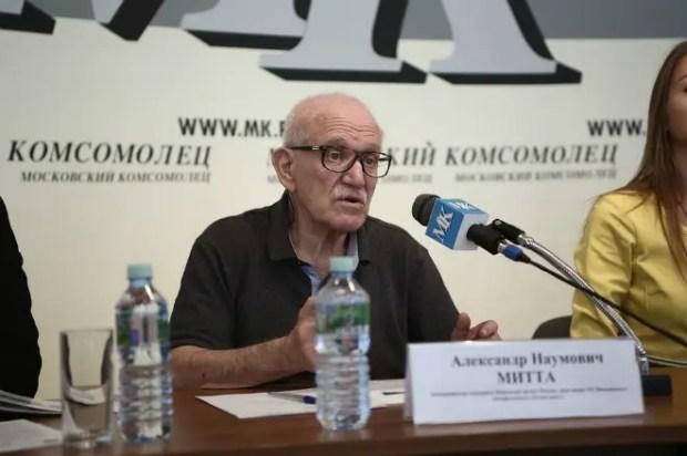 Александр Митта в 2018 году