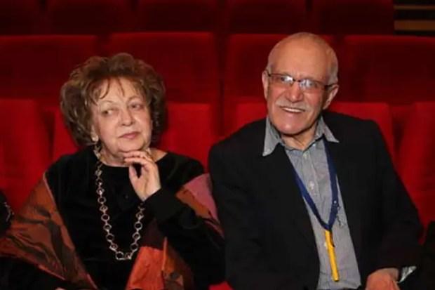 Александр Митта и его жена