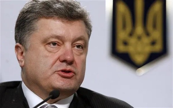 Порошенко назвал военный конфликт на Донбассе ...