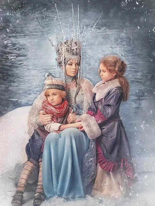 Картинки Кай И Герда Снежная Королева