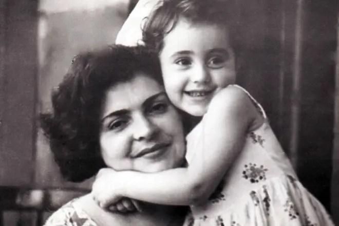 Ирина Отиева в детстве