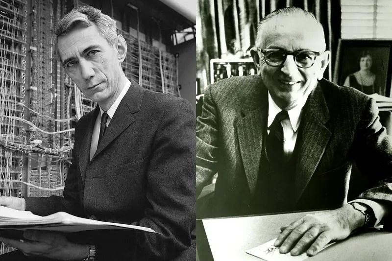 Клод Шеннон и Уоррен Уивер