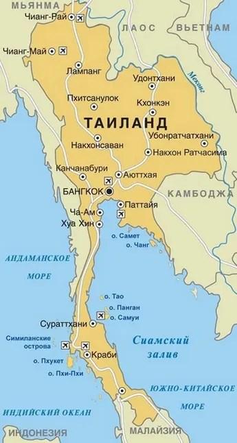 Острова Таиланда: лучшие острова Самуи, Пхукет, Чанг ...