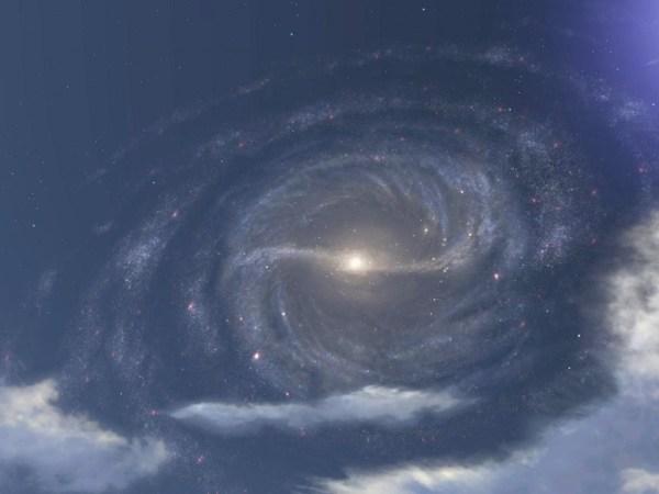 Астрофизиками объяснено происхождение перемычки Млечного ...