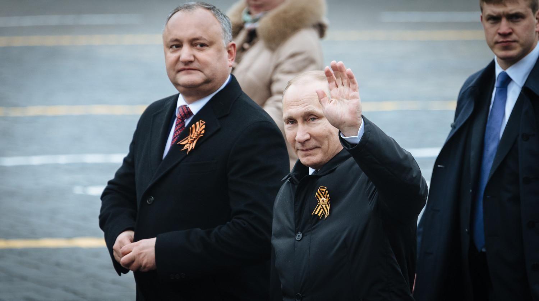 Картинки по запросу Додон и Путин