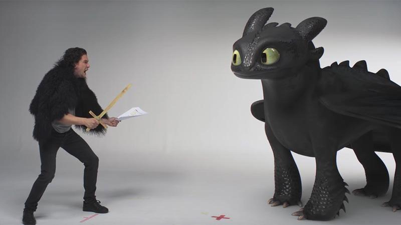 Як приборкати дракона: Кіт Харінгтон дав майстер-клас, від ...