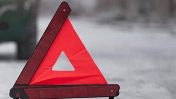 На Рожнятівщині трапилася аварія за участі трьох автомобілів