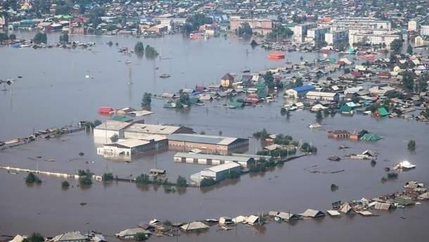 Наводнение в Тулуне есть погибшие фото видео 2019