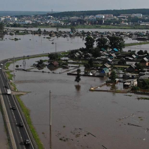 Наводнение в Тулуне причины и последствия стихийного