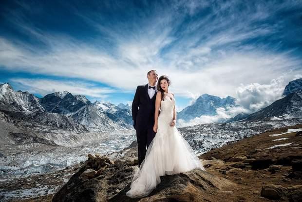 Сафари, Эверест и Браке в небе: экстремальные свадебные ...