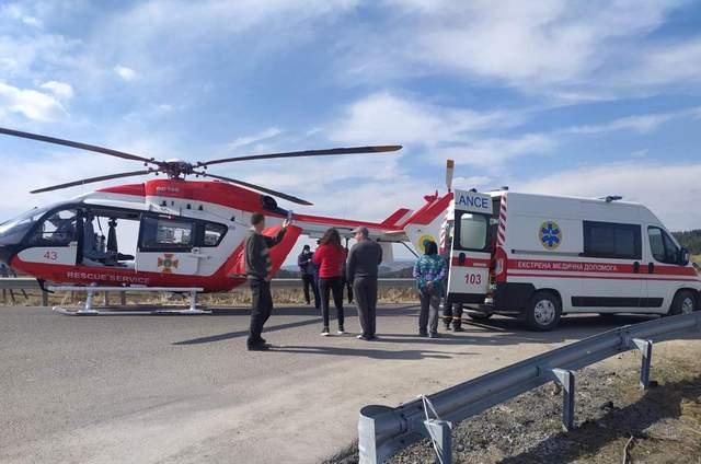Гелікоптер доправив у Львів важкохвору пацієнтку з ...
