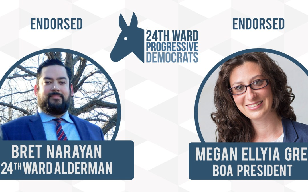 24WPD Members Endorse Narayan and Green for March 5 Primary