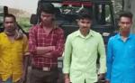 छत्तीसगढ़/जंगली सूअर का शिकार करने वाले चार आरोपियों को वन विभाग की टीम ने किया गिरफ्तार..!