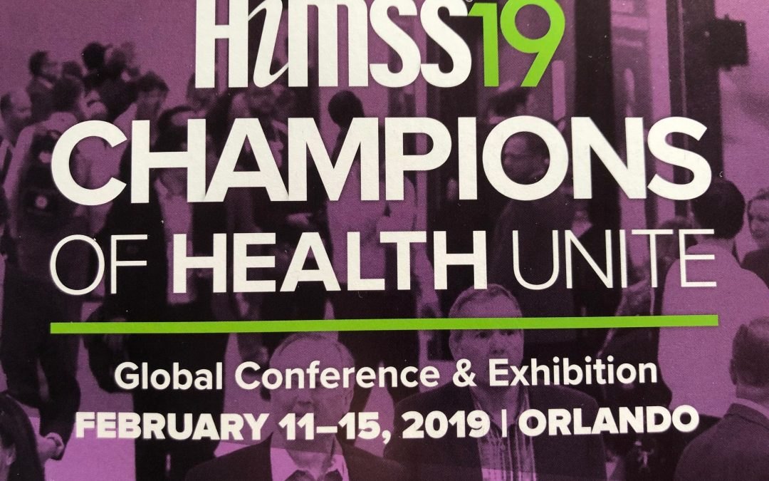 Don't Miss HIMSS 2019!