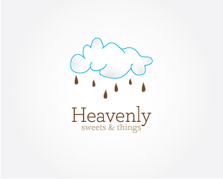 Heavenly Sweets Things 25 logos con mucho chocolate