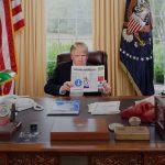 Im Oval Office Funfundzwanzig