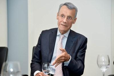 Hermann Merkens, ehemals Vorstandsvorsitzender der Aareal Bank