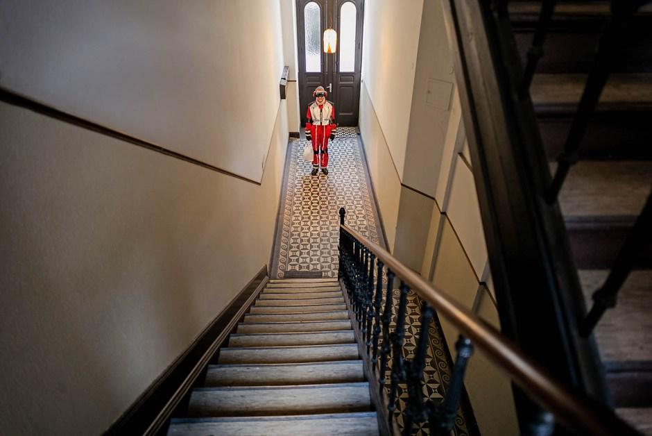 70 Stufen bis in meine Wohnung. Im klassischen Wiesbadener Altbau sind Aufzüge eine Rarität.