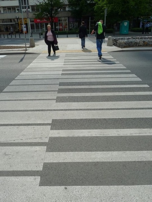This is how all crosswalks should look…
