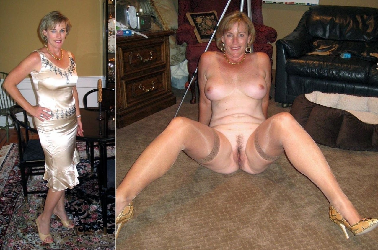 Consider, what mature wives dressed then undressed think, you