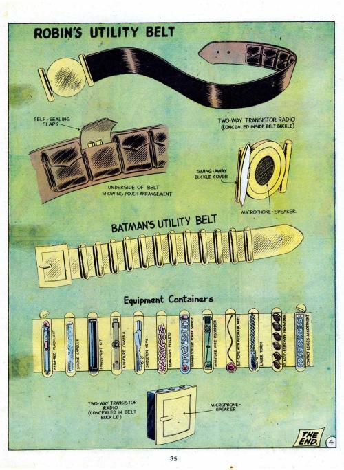 utility belts batman robin