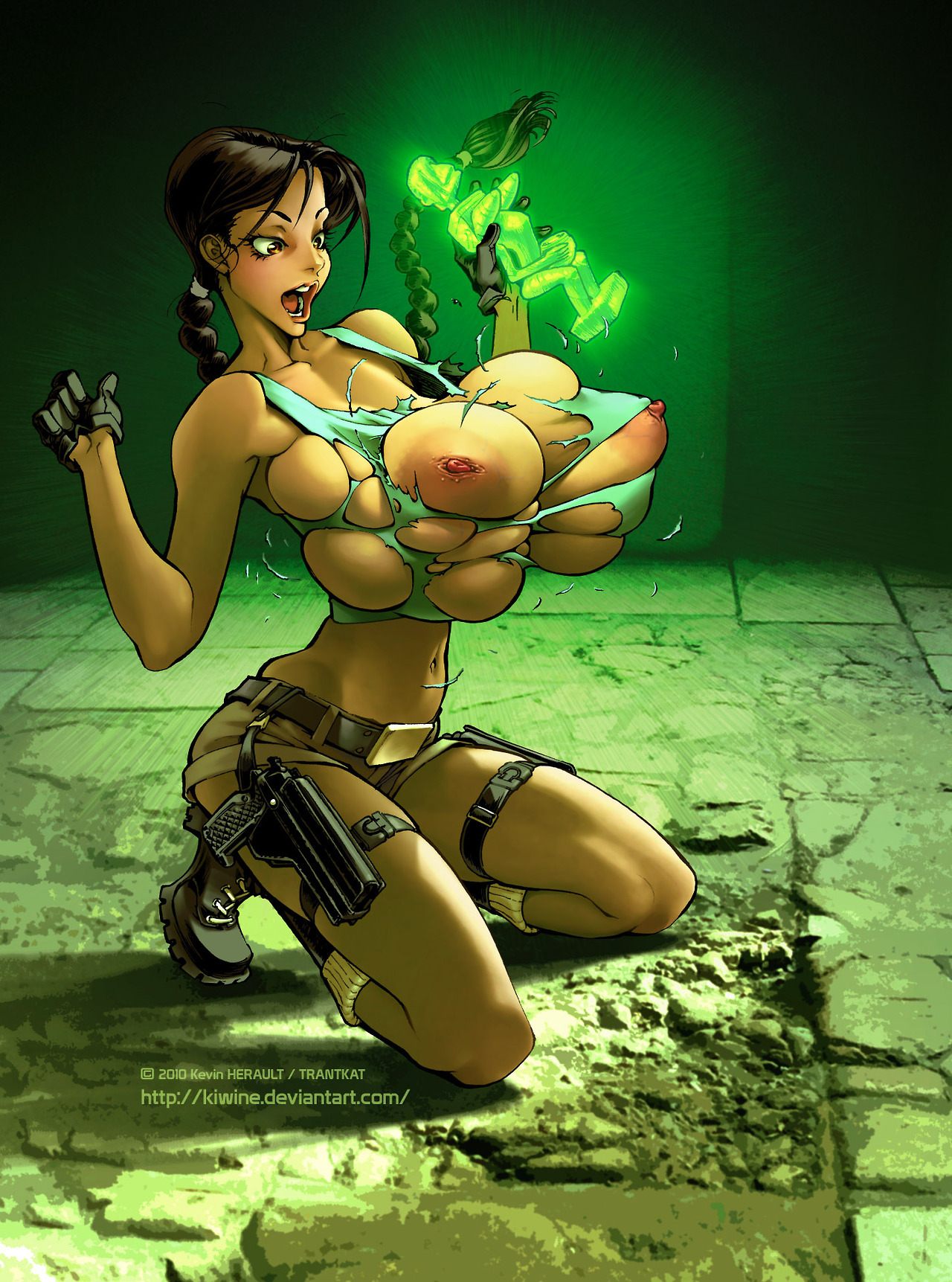 Comic croft hentai lara