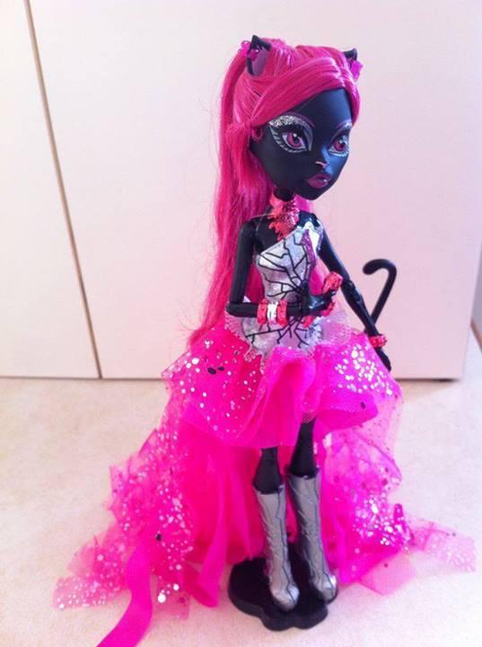 My Monster High Zdjcia Catty Noir mini nowinka