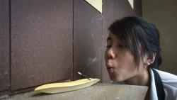 Asmi the smoker~ Hahahaha.