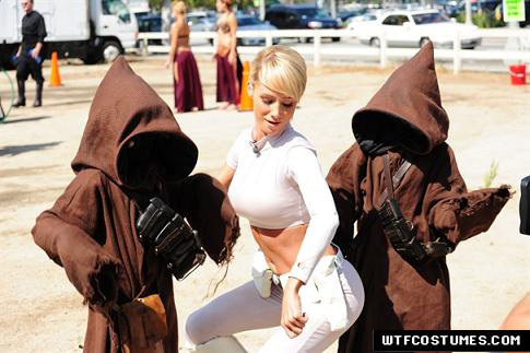 sexy star wars cosplay jawas