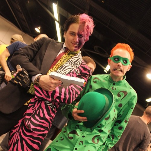 riddler two face cosplay