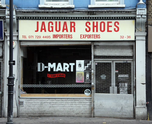 Jaguar Shoes, Kingsland Road E2