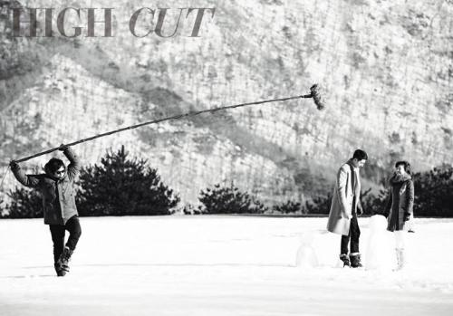 kmagazinelovers:  Jo In Sung, Song Hye Kyo and Kim Bum - High Cut Magazine Vol.97