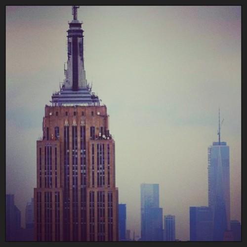 so cloudy, still #beautiful: the #empirestatebuilding. Submitted by David Hanjani. #thisiswhyiloveny #nyc #nyskyline #love