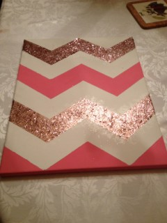 jadorejcrew:My first of 3 chevron panels is done!