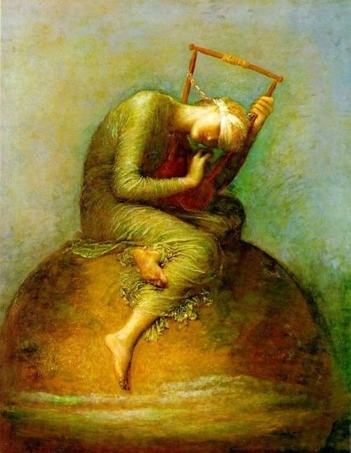Hope, by George Frederic Watts (1886)