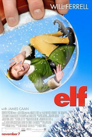 12 Days of Christmas Movies pt11 Admitted and especially if you include the wealth of mad for TV Christmas movies there is a relatively small number of great Christmas movies. But there are the ones you probably write off then perhaps someday end up seeing inadvertently and really enjoy. This was definitely one of those for me; Elf This movie came out when I wasn't a huge fan of Will Ferrell. I didn't dislike him but at the time SNL, of which he was a cast member wasn't in there most charming years. I'm pretty sure I ended up watching this movie because I was told Jon Favreau and not only was I a fan of Dinner For Five, Made and Zathura, but I had also heard he was going to direct Iron Man. Anywho, it's a clever tale that starts almost like a fairy tale of a average boy who grows up with Santa Claus and become a very different person than most. It also starsZooey Deschanel (whose name I'm proud for spelling right on the first try) and James Caan who for some reason I always like to point out as the guy that played one of my favorite characters from a western movie, Mississippi from the El Dorado.