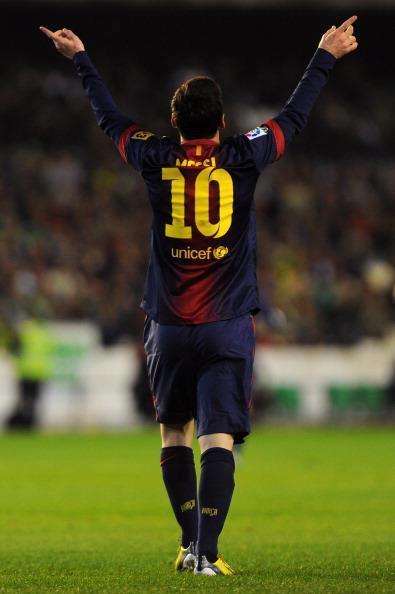 Imagen: Messi vs Betis