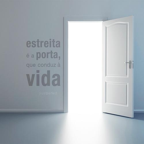 Jesus a porta ch com palavras for Jesus a porta