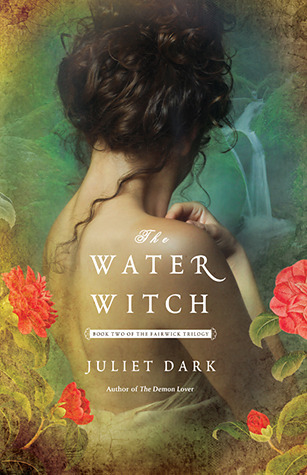 Title: The Water WitchAuthor: Juliet DarkPublisher:Ballantine BooksStatus: Available now*full disclosure: Free thanks to the publisher via NetGalley for my Honest Review.Description:(by goodreads.com)After casting out a dark spirit, Callie McFay, a professor of gothic literature, has at last restored a semblance of calm to her rambling Victorian house. But in the nearby thicket of the Honeysuckle Forest, and in the currents of the rushing Undine River, more trouble is stirring… .The enchanted town of Fairwick's dazzling mix of mythical creatures has come under siege from the Grove: a sinister group of witches determined to banish the fey back to their ancestral land. With factions turning on one another, all are cruelly forced to take sides. Callie's grandmother, a prominent Grove member, demands her granddaughter's compliance, but half-witch/half-fey Callie can hardly betray her friends and colleagues at the college.To stave off disaster, Callie enlists Duncan Laird, an alluring seductive academic who cultivates her vast magical potential, but to what end? Deeply conflicted, Callie struggles to save her beloved Fairwick, dangerously pushing her extraordinary powers to the limit—risking all, even the needs of her own passionate heart.My Review:So lol this book. When I requested it from Netgalley I didn't realize it was the second in the series but luckily it didn't really matter the author gave you enough background to know what was going on without having read the first one. Also it seemed that if you had read the first one, the background details weren't gone through in the play-by-play method that P.C. Cast uses that annoyed the hell out of me. (why did I waste all that time on that YA vampire series I do not know -__- )Anyway this book was entertaining I know I found it humorous when it wasn't meant to be but it was cheesy bad but in a good way. There were elements of danger, and the love scenes were … sorry funny but all and all I'm not sorry I read it. I might