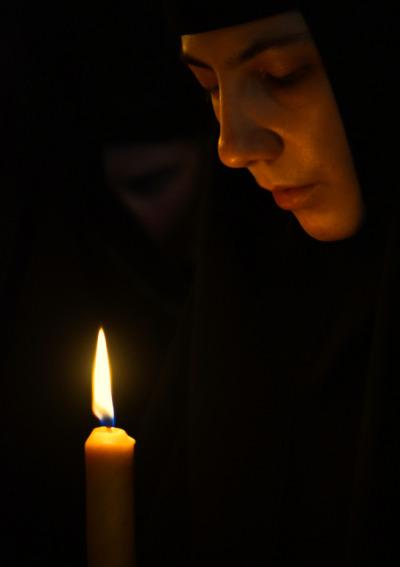 An Orthodox nun