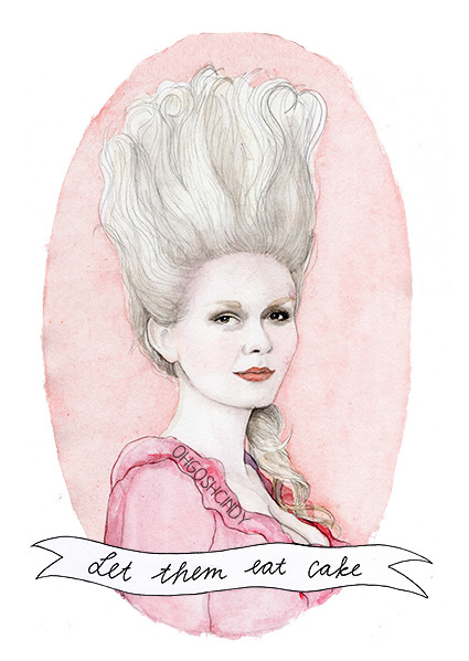 Marie Antoinette, by ohgoshCindy on etsy