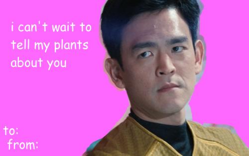 Edits Bones Star Trek Spock Scotty Valentines Card Uhura