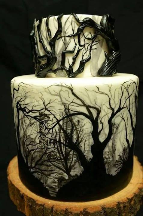WOW!<br /> CREEPY CAKE!<br /> I WANT IT FOR MY BIRTHDAY!