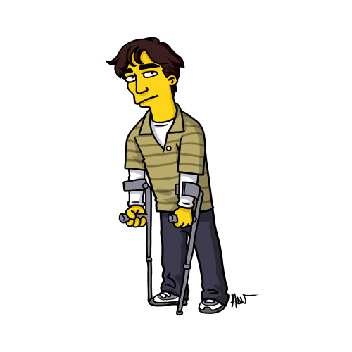 "Walter White Jr from ""Breaking Bad"" / Simpsonized by ADN"