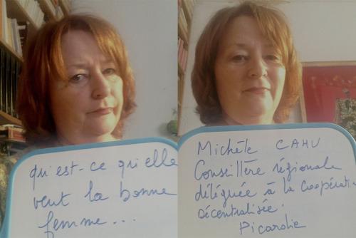 """""""Qu'est ce qu'elle veut la bonne femme…""""</p><br /><br /><br /><br /><br /> <p>Entendu par Michèle Cahu, Conseillère Régionale en Picardie, Déléguée à la Coopération Décentralisée."""