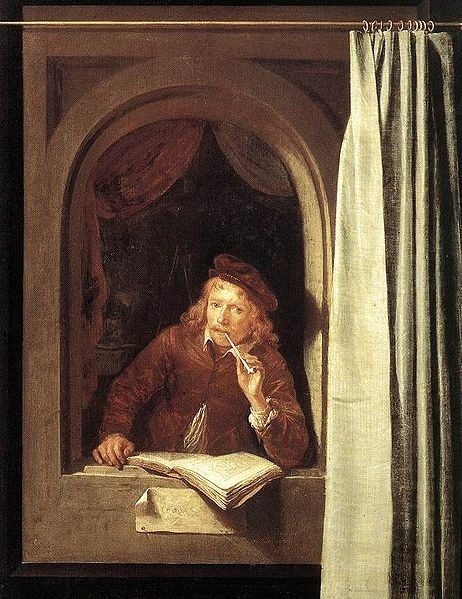 Self-portrait, 1650; by Gerrit Dou